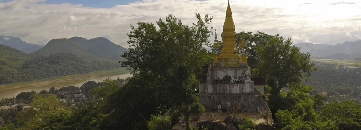 Buddhist Temples, Shrines,, Laos, Tourism, Culture, heritage